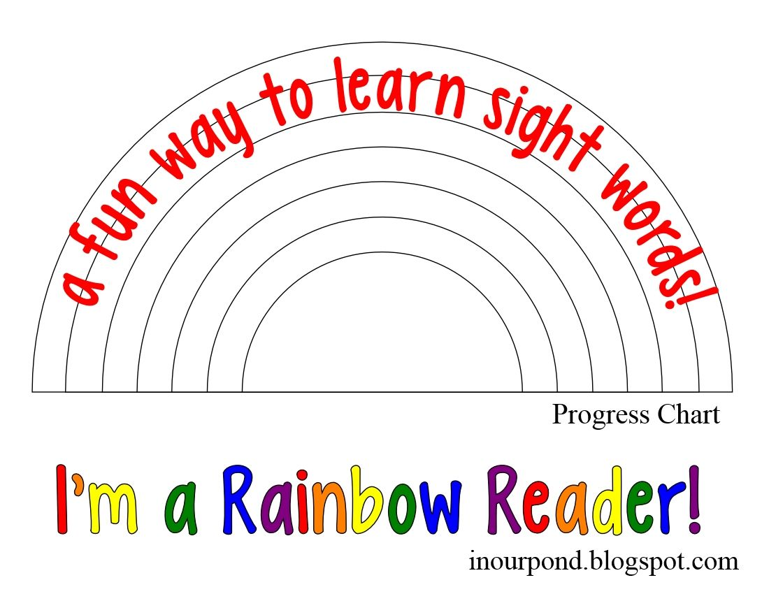 Be A Rainbow Reader Kindergarten Worksheets Sight Words Sight Words Kindergarten Sight Words [ 850 x 1100 Pixel ]