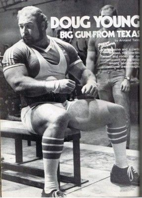 Doug Young 70 S Big Powerlifting Motivation Powerlifting Powerlifting Men