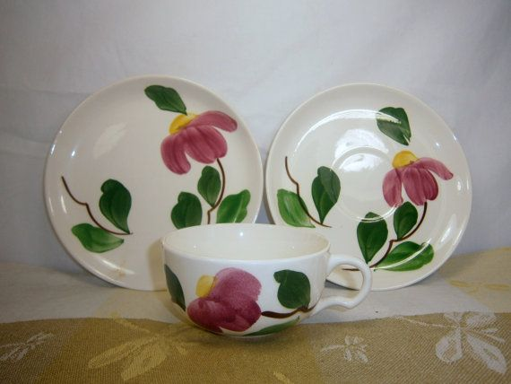 Stetson Pottery / Rio / Stetson china / Dinnerware by Eklektibles & Stetson Pottery / Rio / Stetson china / Dinnerware by Eklektibles ...