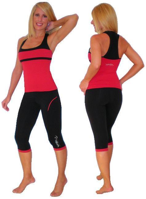 21ada07c84566 Vata Brasil Zariah Knee Capri Pant 003 Women Workout Clothing in ...