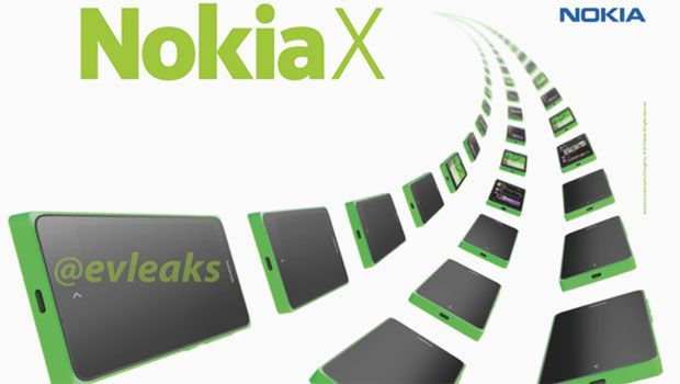 The Nokia X, another leak of Nokia's alleged Android phone.