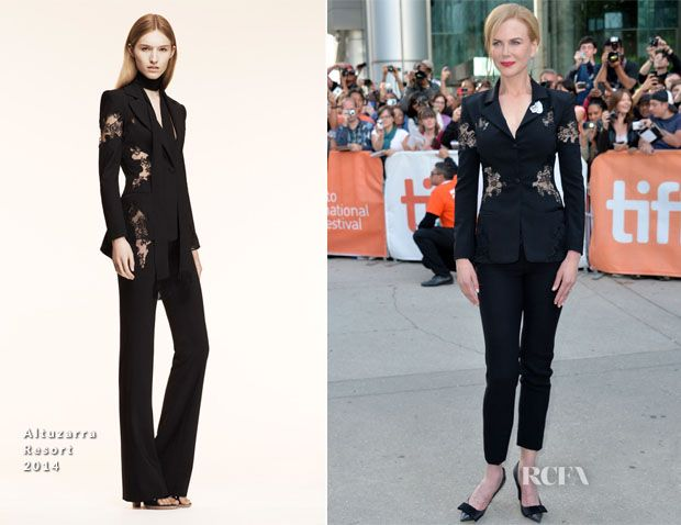 Nicole Kidman In Altuzarra – 'The Railway Man' Toronto Film Festival Premiere