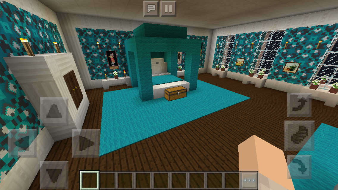 Pics For > Inside Modern Houses In Minecraft | Minecraft ... |Minecraft Mansion Inside Bedroom
