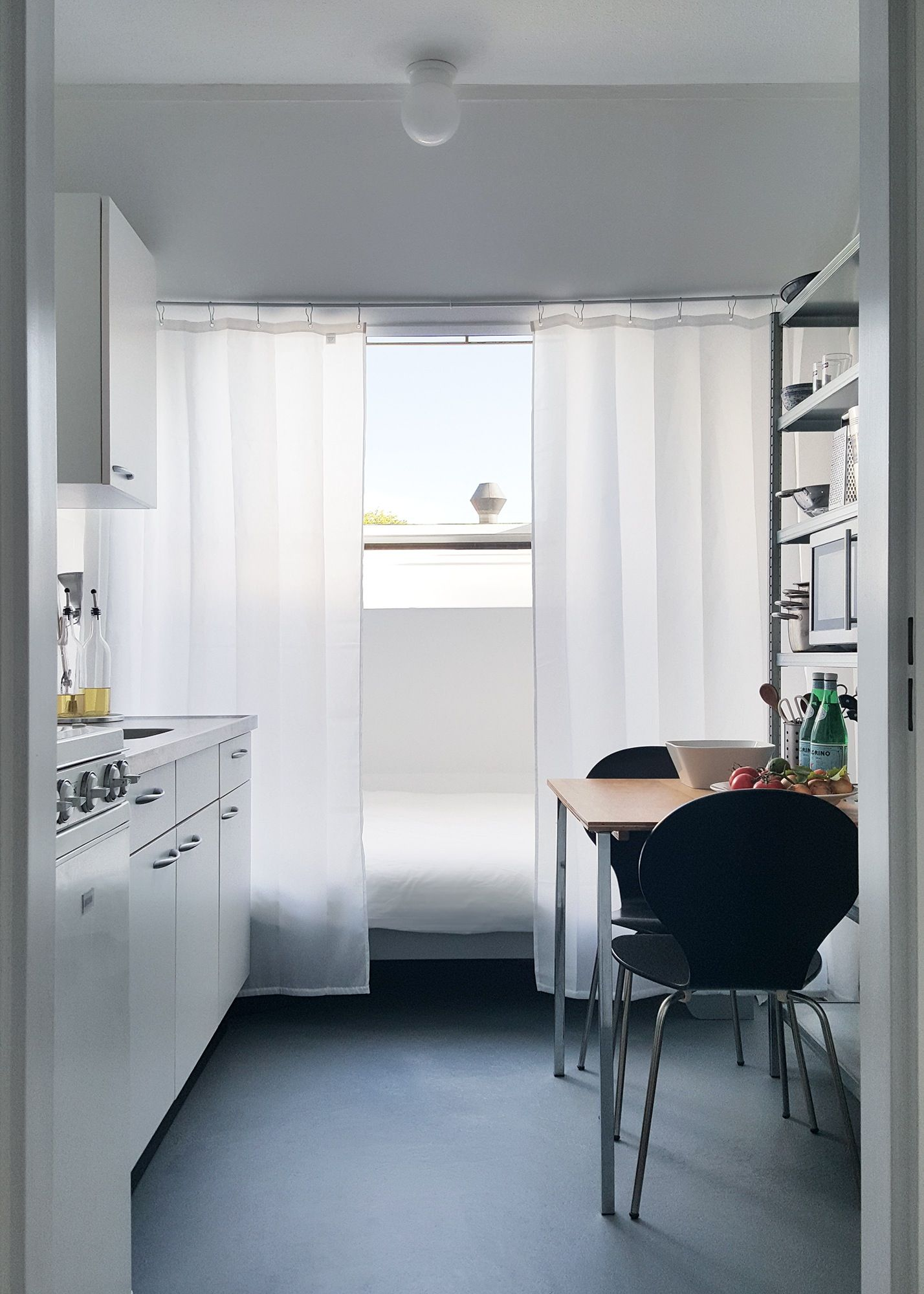 Best A Modern Minimalist Studio Apartment In Amsterdam With 640 x 480
