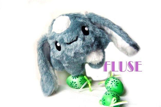 Fluse Hase Stofftier Plusch Bunny Stofftiere Plusch Kawaii Plusch