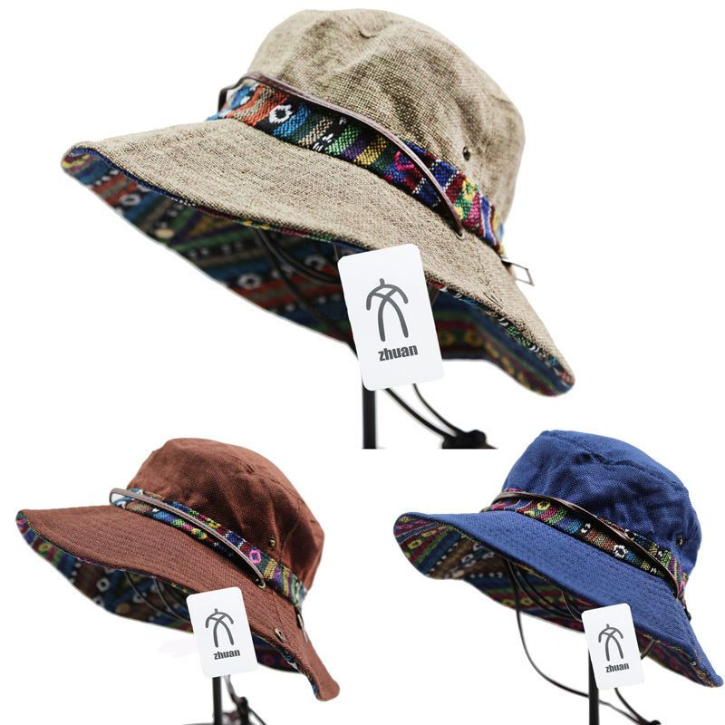fd48722ca9e Military Boonie Bucket Hat Hiking Hunting Fishing Wide Brim Outdoor Cap  Unisex  zhuan  Boonie