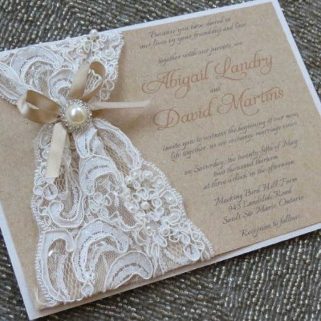 Inexpensive Wedding Invitation Ideas: Cheap Country Wedding Invitations