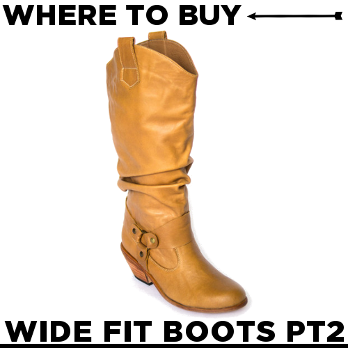 Where to Buy Wide Calf Boots {Part 2 | Plus size fashion ...