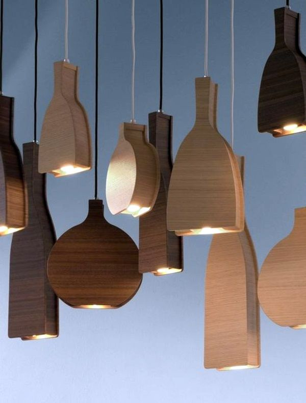 40 Beautiful Wooden Lamp Designs (@Home) | Wooden lamps