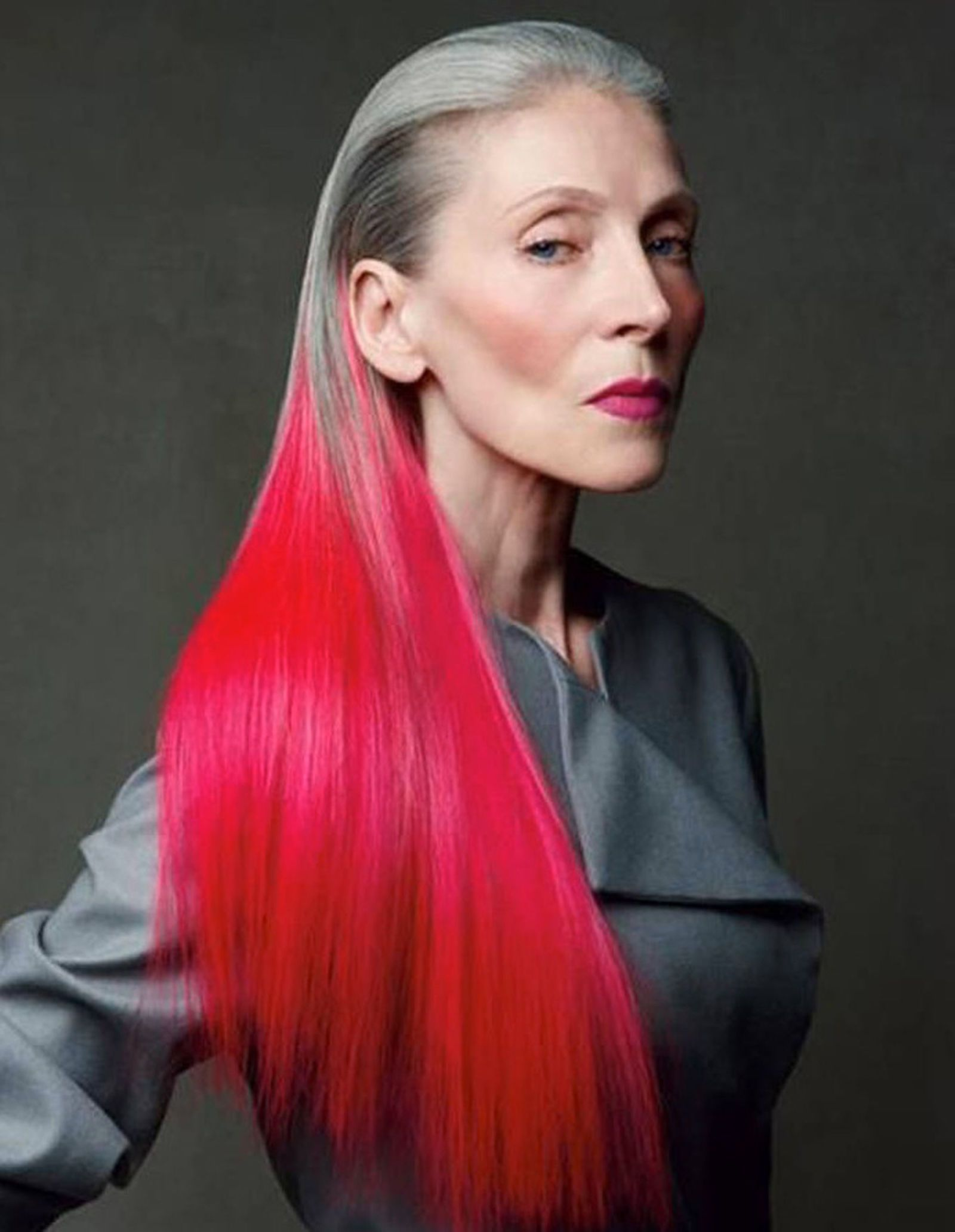 inspiring older women proving edgy hair has no age limit