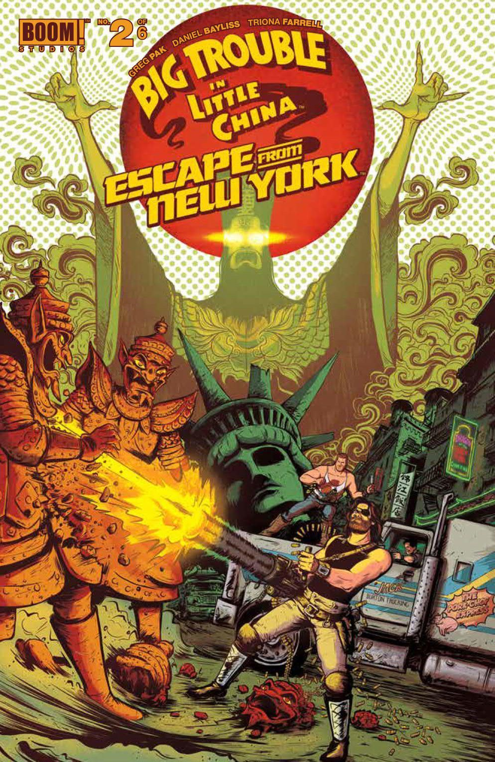 Big trouble little china escape new york 2 (With images