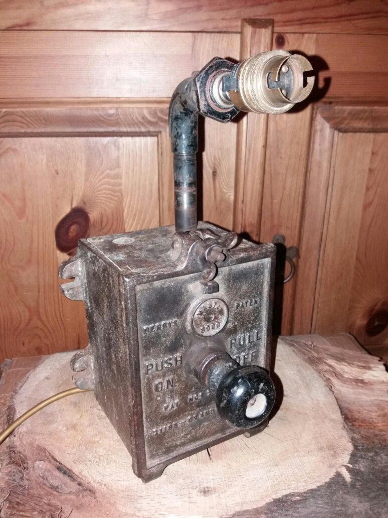 Vintage Fuse Box Lamp Diy Enthusiasts Wiring Diagrams 100 Amp Upcycled Fusebox Lamps Pinterest Rh Co Uk Old House Fuses 60