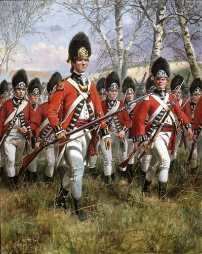 The Royal Welsh Fusiliers , by Don Troiani