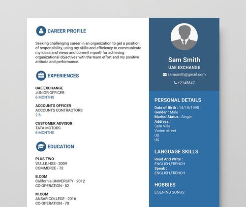 Create CV For Experienced How to create CV Free CV