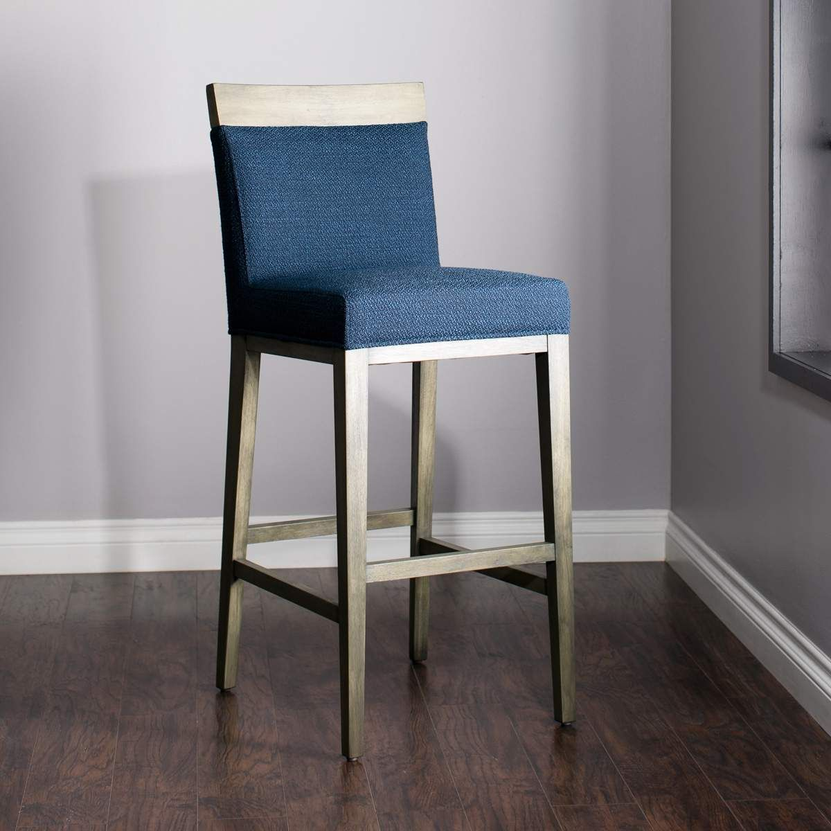 Blue Bar Stool Blue Counter Stool Jerome S Furniture Bar Stools Blue Bar Stools Bar Height Stools