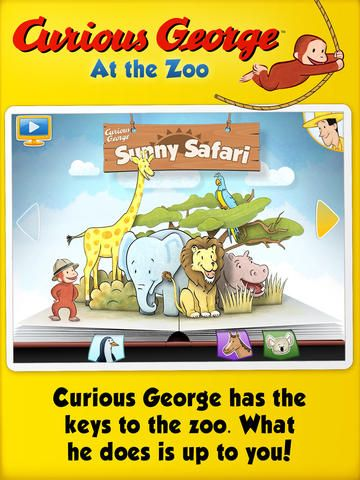 Curious George at the Zoo ($.99)