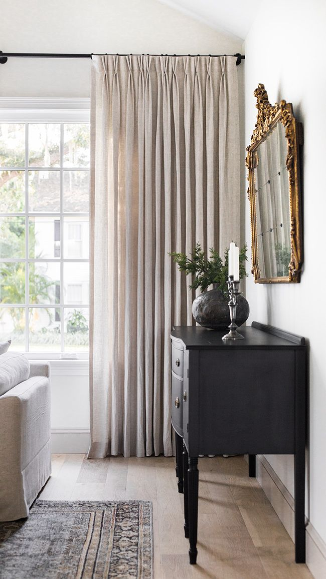 Customize Product Draperies in 2020   Living room drapes ...