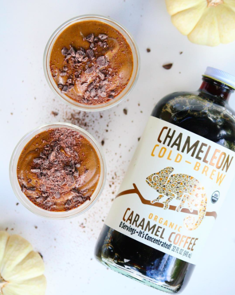 Pumpkin Spice Cold Brew Smoothie Pot - the whole f