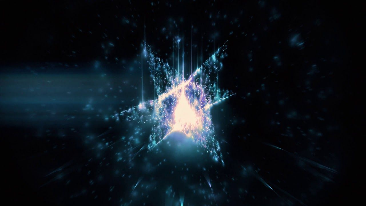 4k Sparkling 3d Star Space Moving Background Aavfx Blue Relaxing Live Moving Backgrounds Star Wallpaper 3d Animation Wallpaper