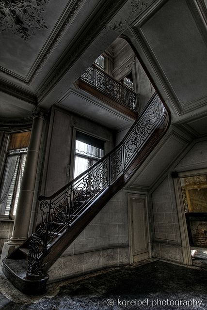 "Abandoned house. But I would live in it and love it and name it, ""My House"" and it would never feel alone again."