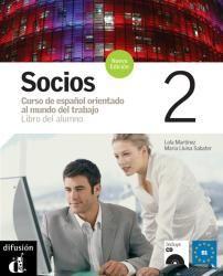 Socios nueva edición 2 - Libro del alumno. Ed. Difusión. Más info: http://www.difusion.com/ele/coleccion/metodos/profesional/socios-nueva-edicion/referencia/socios-nueva-edicion-2-libro-del-alumno/