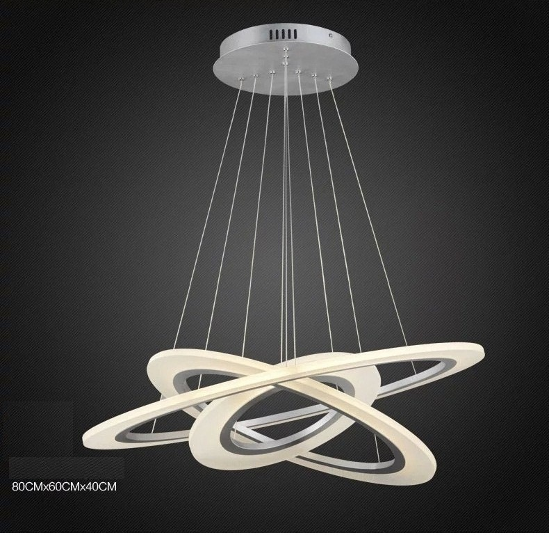Luxury Modern Chandelier Led Circle Chandelier Lights For Living Room Cristal Lustre Item Type C Led Pendant Lights Modern Pendant Lamps Modern Pendant Light