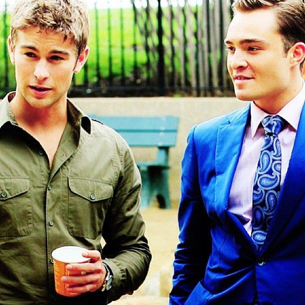Nate Archibald and Chuck Bass in Early Season 5 # ...
