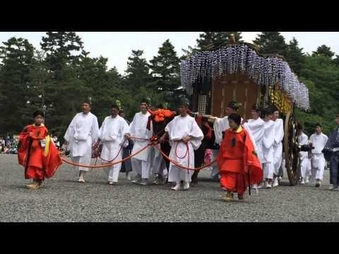 葵祭2015年5月15日:加茂街道39 Romantc Area Kyoto 京の都ぶらぶら放浪記 - YouTube