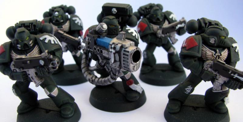 Angel, Cannon, Dark, Plasma, Raphael, Squad, Tactical, Vengeance