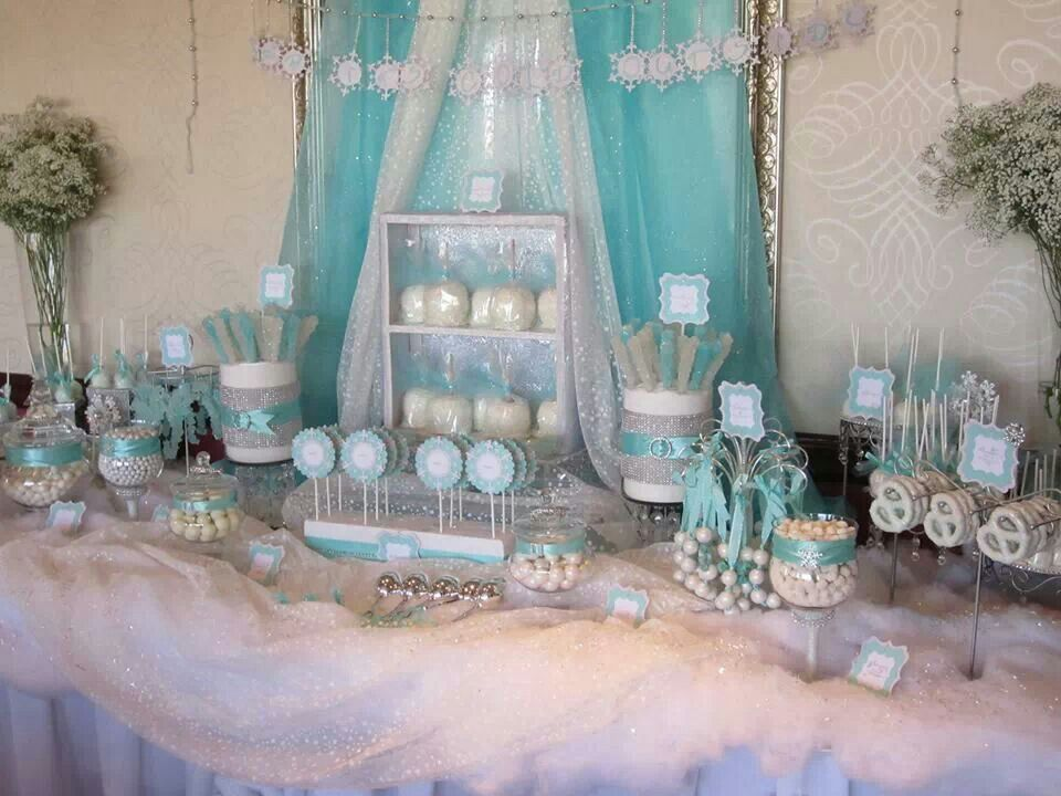 Baby its cold outside baby shower by Sweet Celebrations and Candy