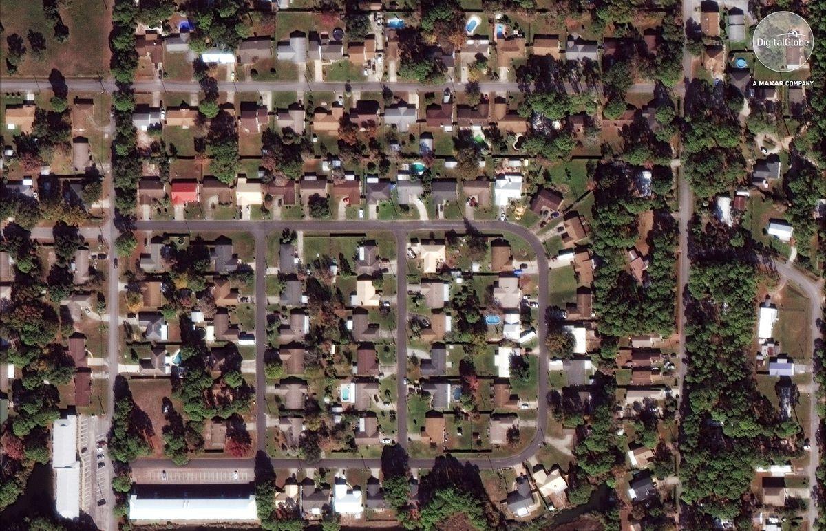 Satellite Photos Show Devastation Left By Hurricane Michael Panama City Panama Satellite Image Devastation