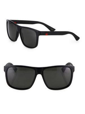 46f8d66e9e27 GUCCI 58Mm Square Sunglasses. #gucci #sunglasses Gucci Men, Gucci Sunglasses,  Oakley