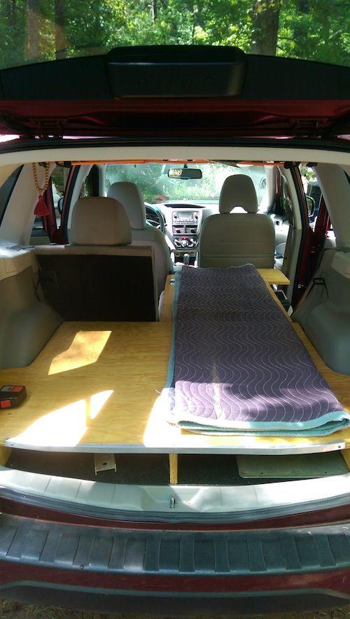 09-'13) Rear Sleeping Platform - Subaru Forester Owners