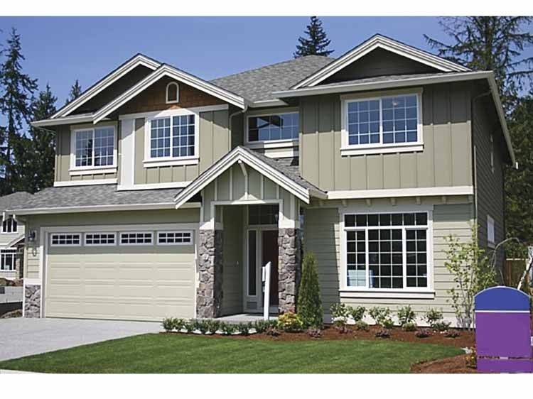Eplans Contemporary-Modern House Plan - Builder Friendly Family Home - 2891 Square Feet and 4 Bedrooms from Eplans - House Plan Code HWEPL66521