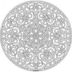 Сложные узоры | Раскраски мандала, Раскраски, Книжка-раскраска