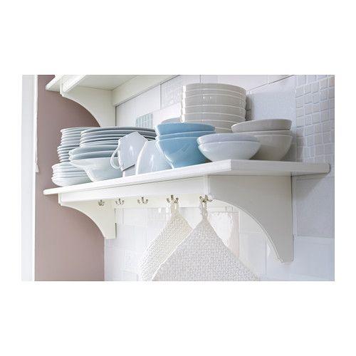 Wandregal ikea küche  STENSTORP Wandregal, weiß | Flure, Wohnideen und Küche