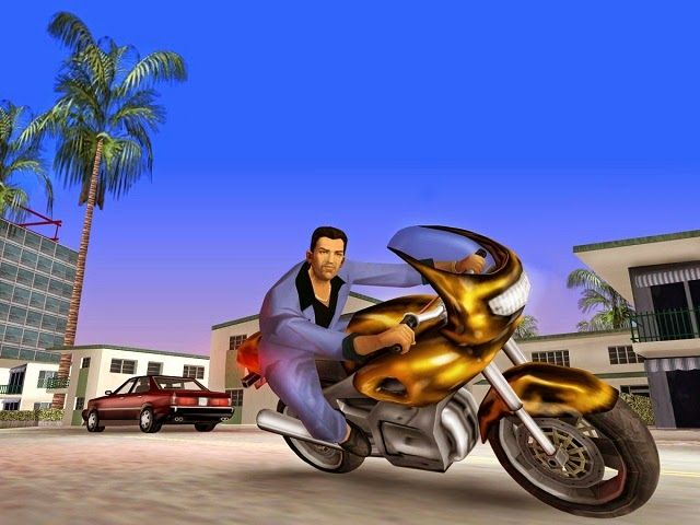 تحميل لعبة حرامى السيارات الشهيرة Gta Vice City City Puzzle Grand Theft Auto Gta