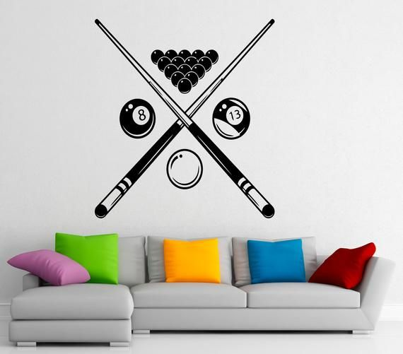 ig4000 Vinyl Wall Decal Joystick Video Games Gift for Teen Gaming Stickers
