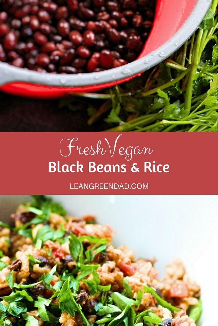 Vegan Black Beans Rice