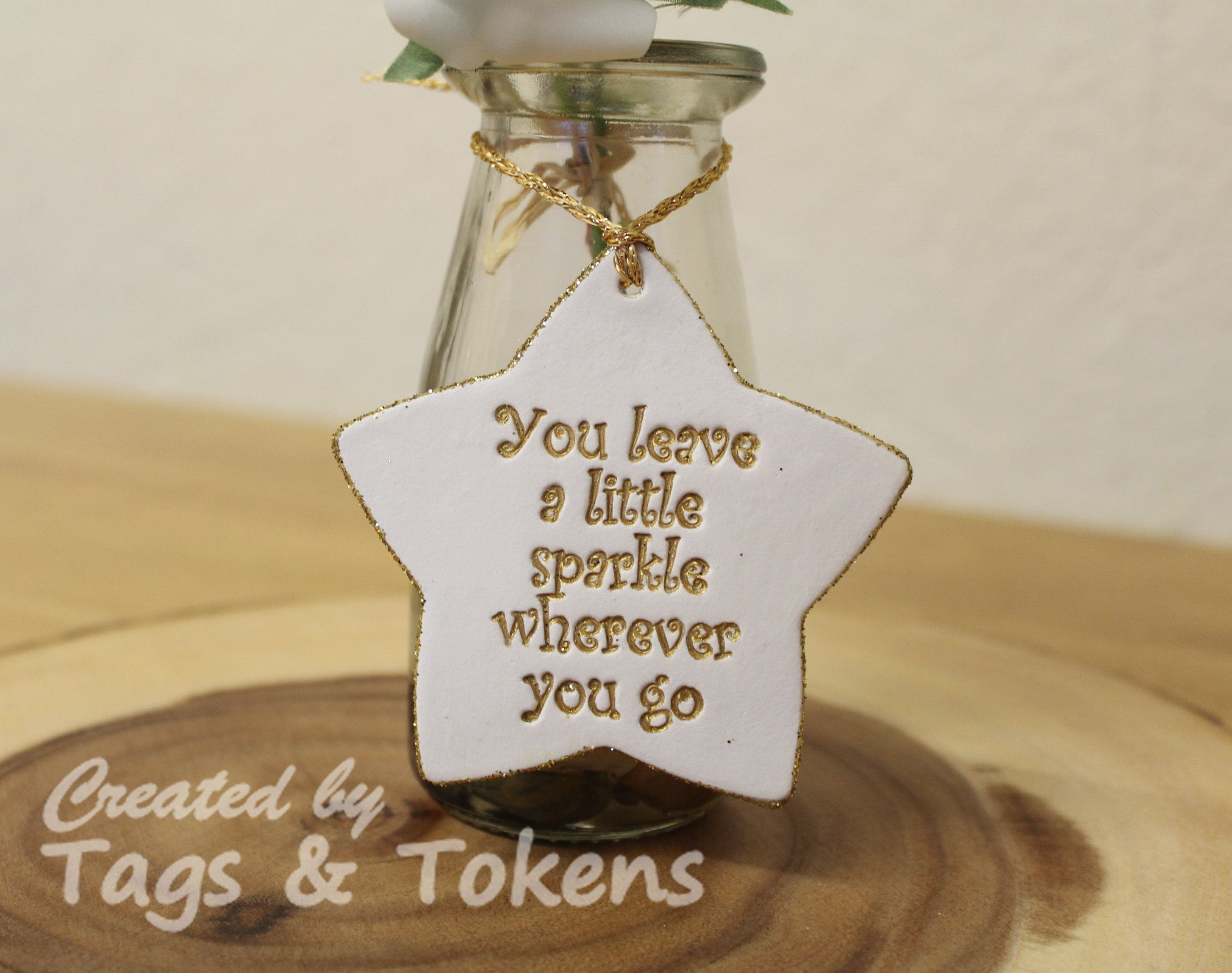 cb3f42c9 You leave a little sparkle wherever you go. Decorative hanging ...