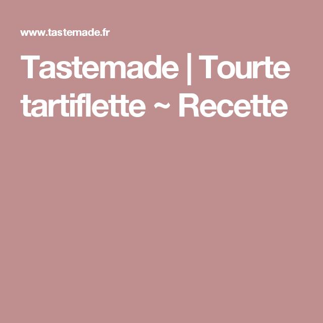 Tourte tartiflette ~ Recette