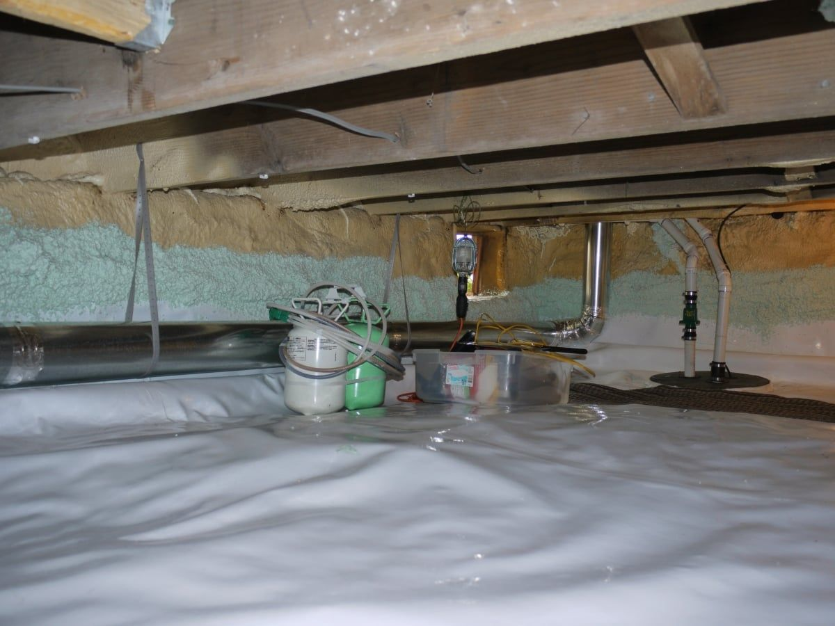 How To Install a Crawl Space Vapor Barrier To Control