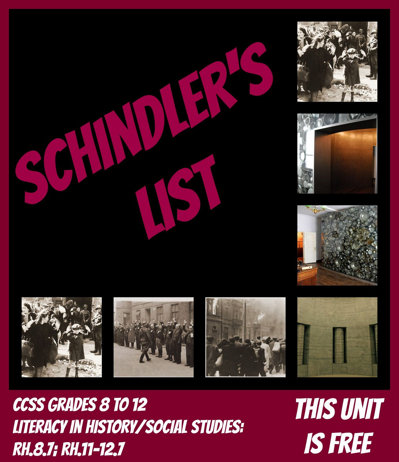 Schindler S List Free Unit