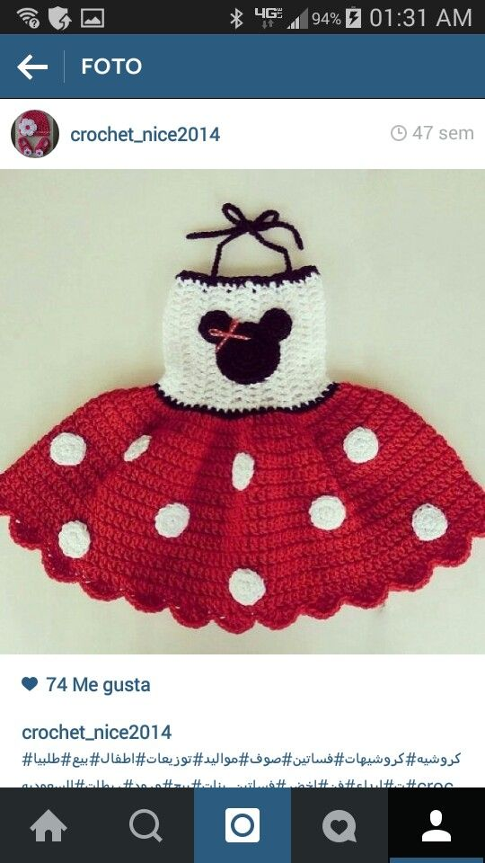 Vestido minnie Mouse   Mickey y Minnie Mouse   Pinterest