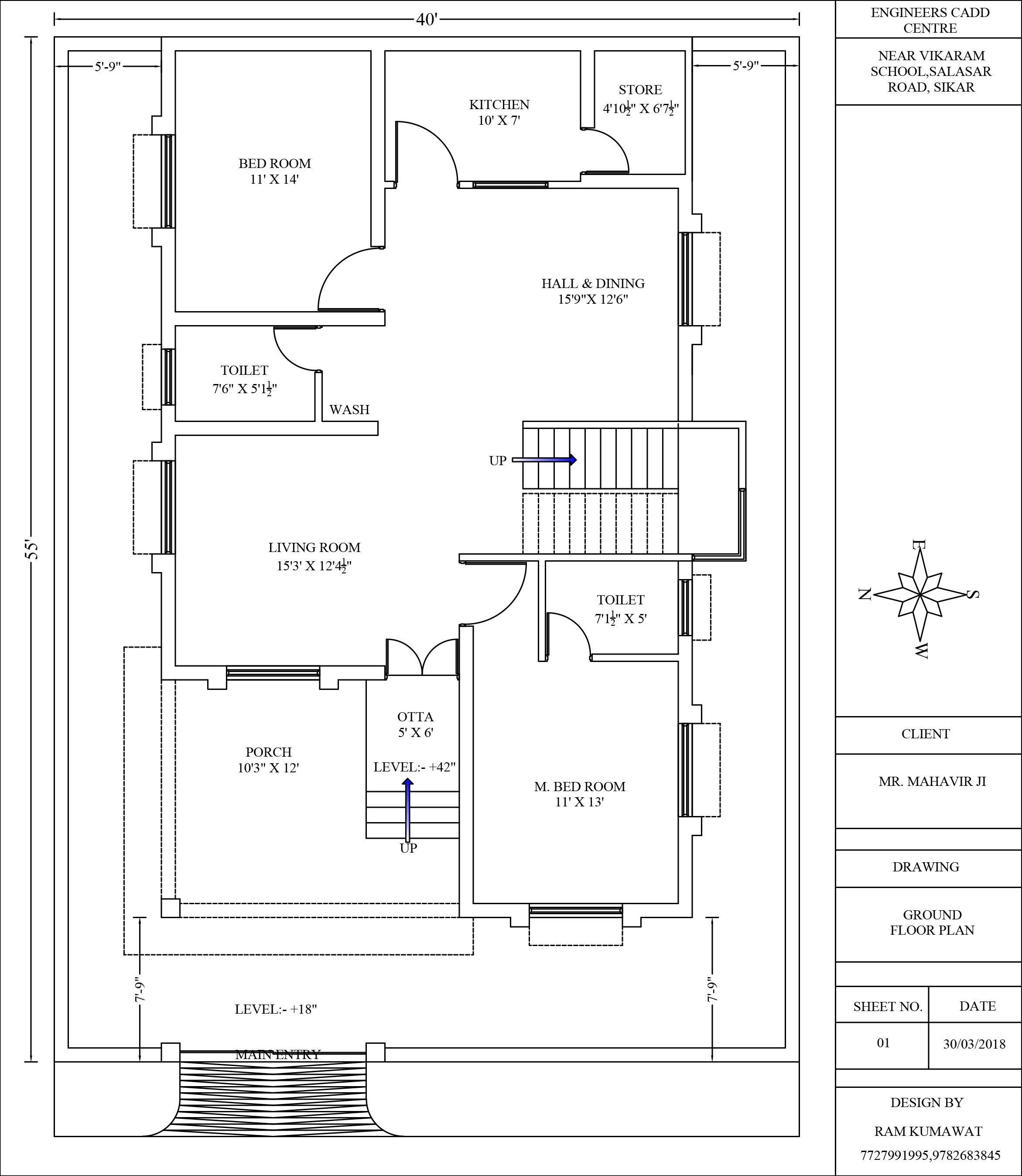 Ground Floor Plan Ground Floor Plan Model House Plan Floor Plans