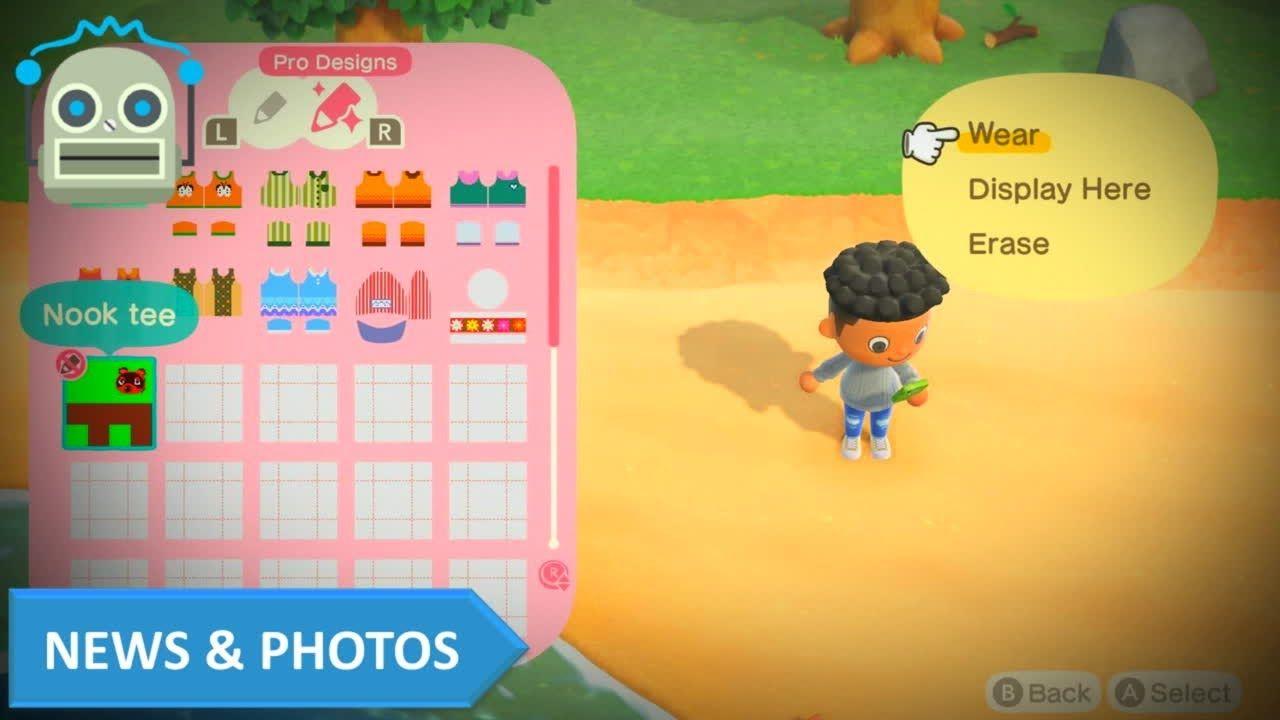 Animal Crossing New Horizons Nooklink Will Let You Transfer Custom