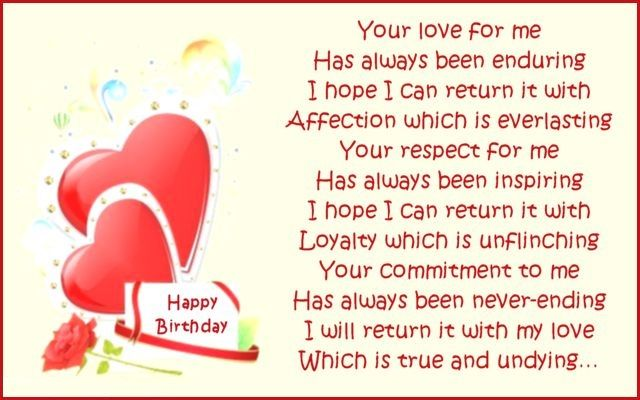 Happy Birthday Messages for wife Bday Wishes – Birthday Card Messages for Wife