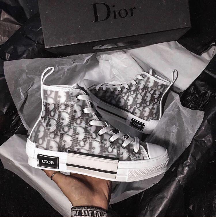 Dior B23 High Top Logo Oblique