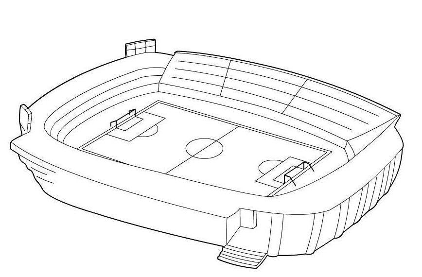 ausmalbilder fußballstadion 1164 Malvorlage Fußball Ausmalbilder ...