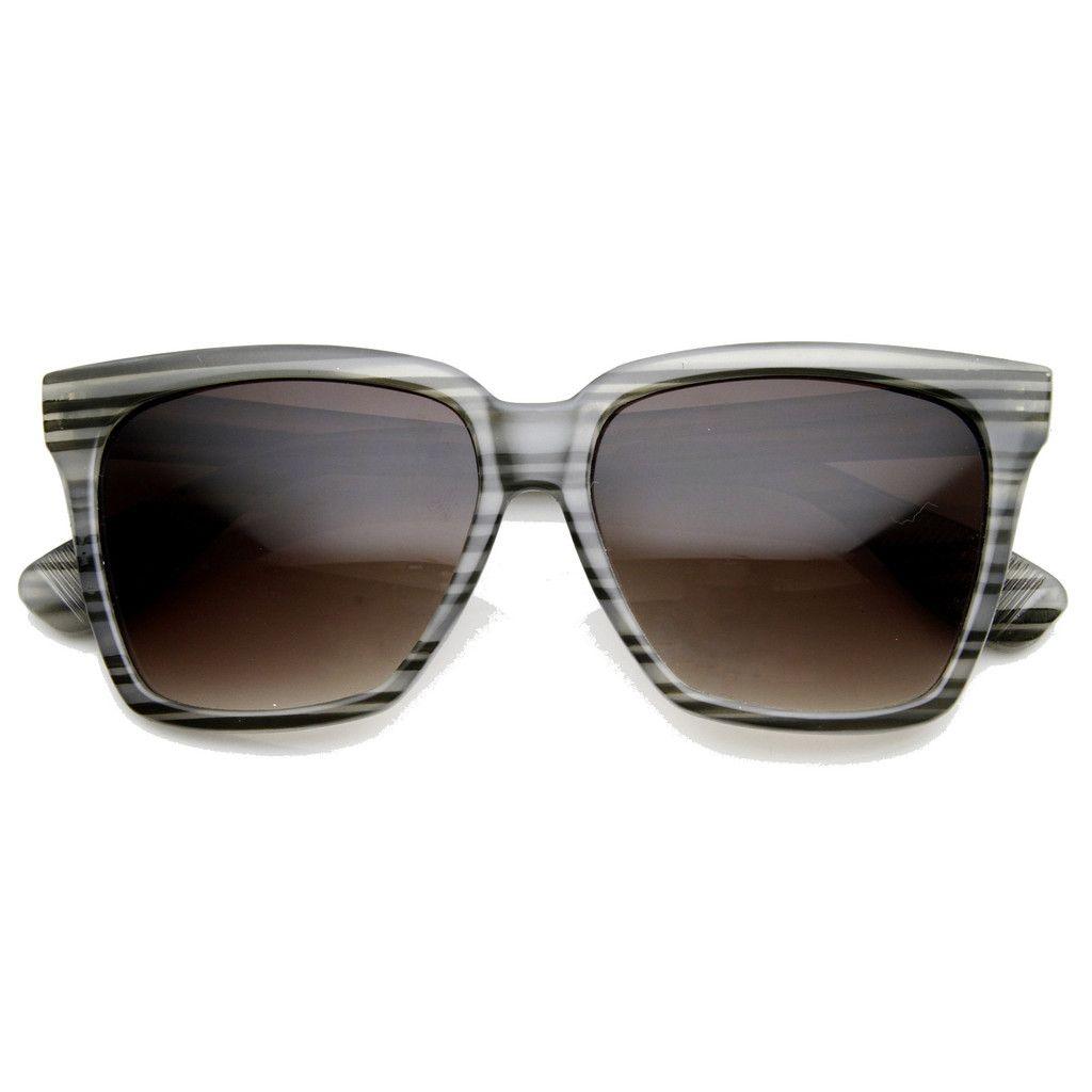 d042a2a2f7e Womens Oversize Flat Top Cat Eye Designer Sunglasses 8967